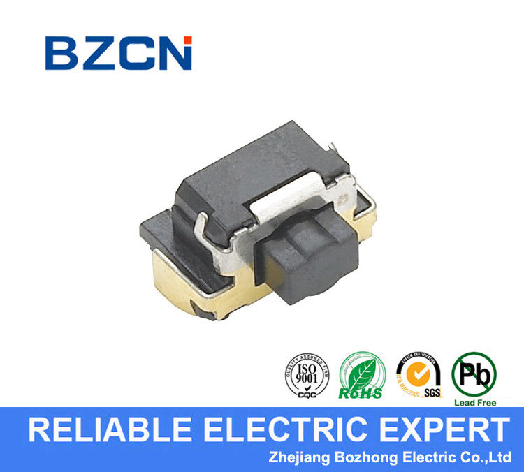 Side Press Double Action Tactile Switch / Micro Push Button Switch For PCB